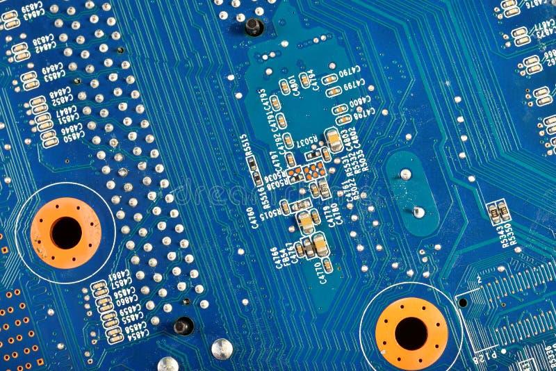 计算机硬件主板 库存图片