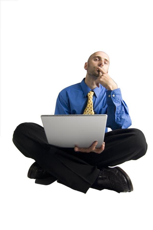 计算机程序设计者 免版税库存照片