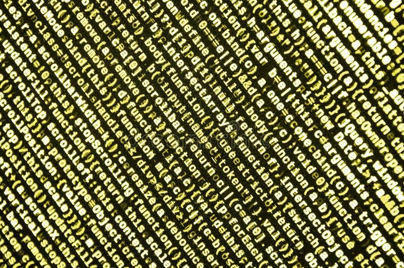 计算机程序预览 编程的代码键入 信息技术网站网络设计的编制程序标准 向量例证