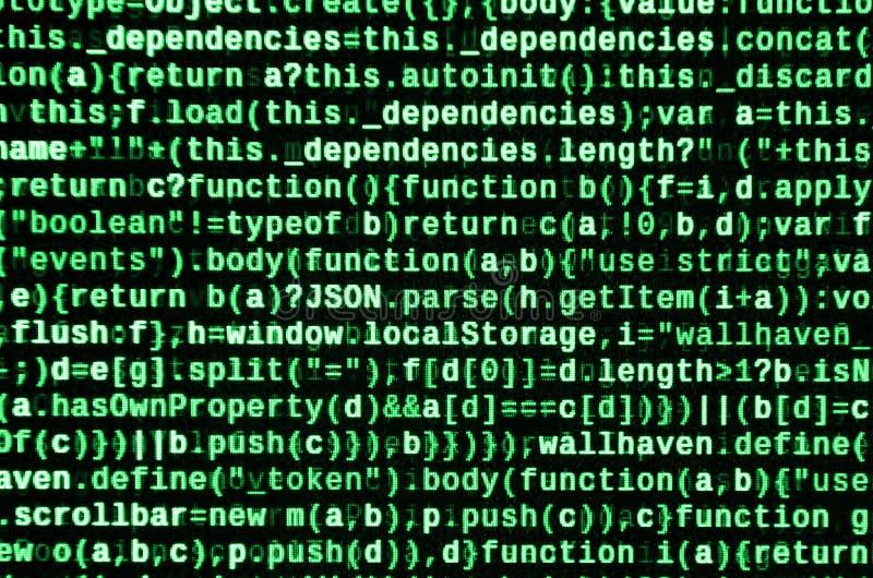 计算机程序预览 编程的代码键入 信息技术网站网络设计的编制程序标准 皇族释放例证