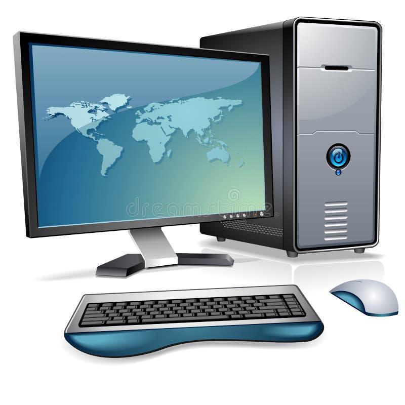 计算机系统 库存例证