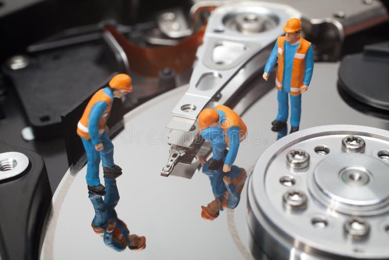 计算机维护概念 库存图片