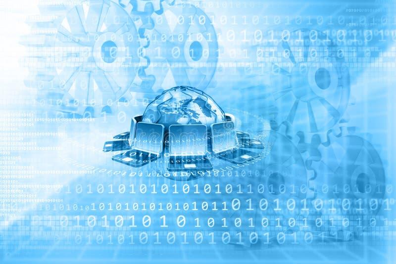 计算机网络技术 向量例证