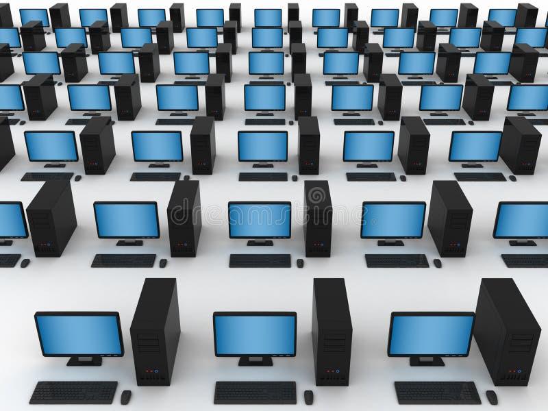 计算机网络 免版税库存照片