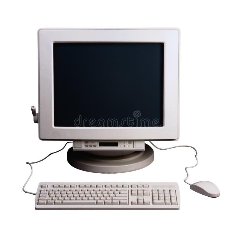 计算机老牌 免版税库存照片
