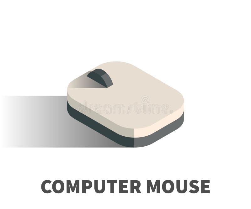 计算机老鼠象,传染媒介标志 向量例证