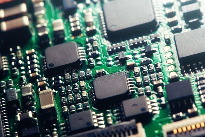 计算机芯片 库存照片
