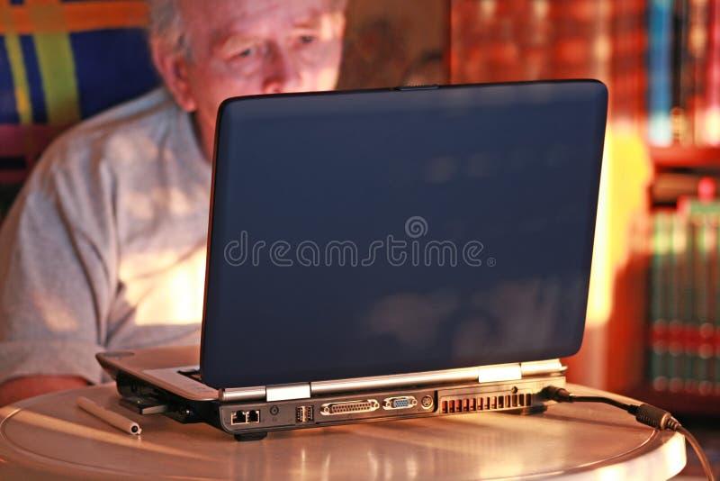 计算机角落 库存照片