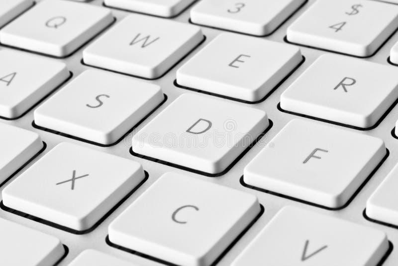 计算机详细资料关键董事会 免版税库存照片