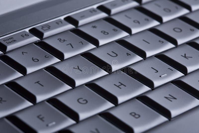 计算机详细资料关键董事会 免版税库存图片