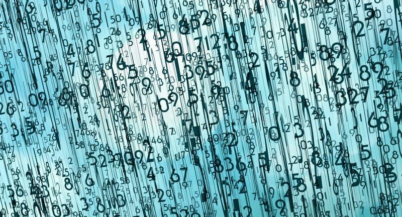 计算机通信形象化 库存例证