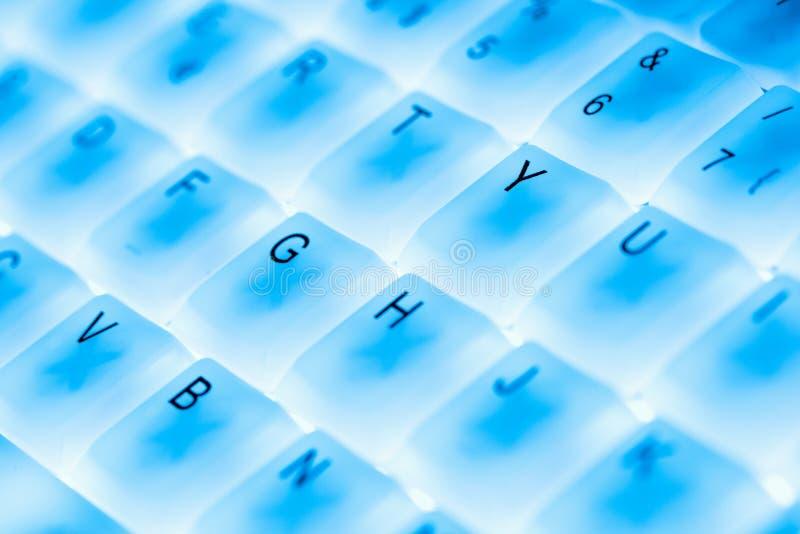计算机键盘 库存图片
