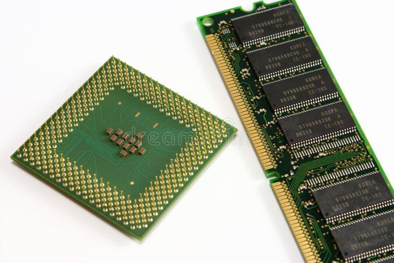 计算机零件 免版税库存照片