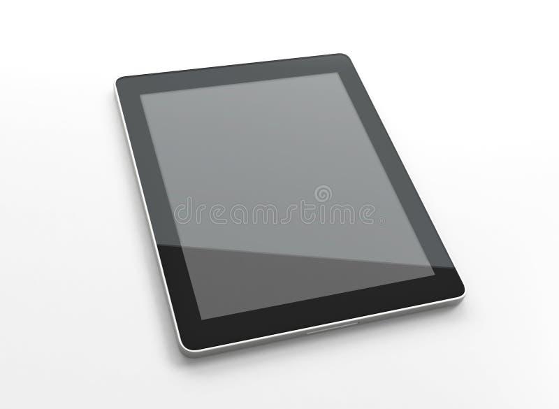 计算机面板个人计算机片剂接触 免版税图库摄影
