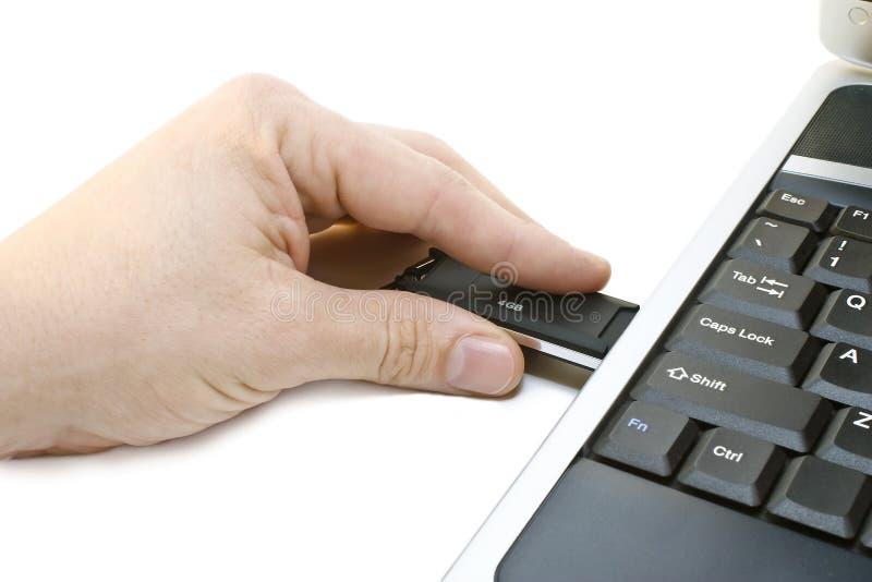 计算机 免版税库存照片