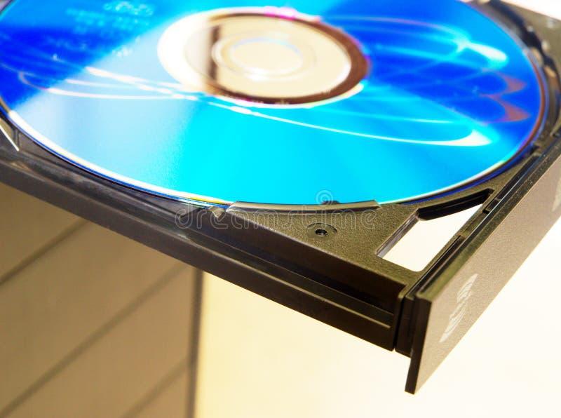 计算机dvd阅读程序 免版税库存照片