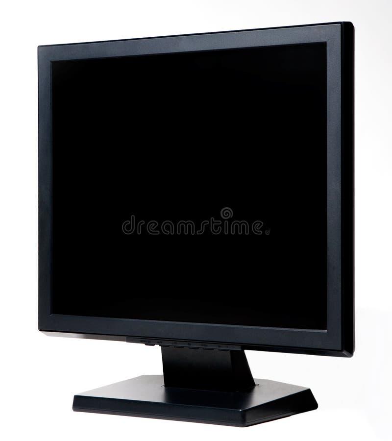 计算机lcd监控程序 库存照片