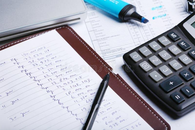 计算 免版税库存图片