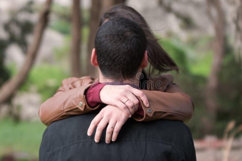 订婚夫妇 免版税库存图片