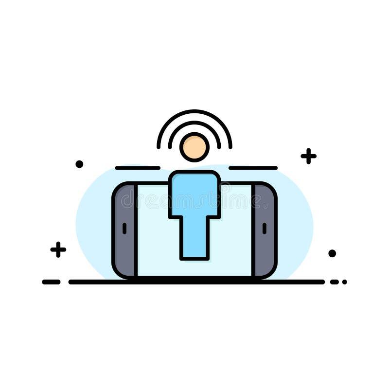 订婚,用户,用户订婚,销售的企业平的线填装了象传染媒介横幅模板 皇族释放例证