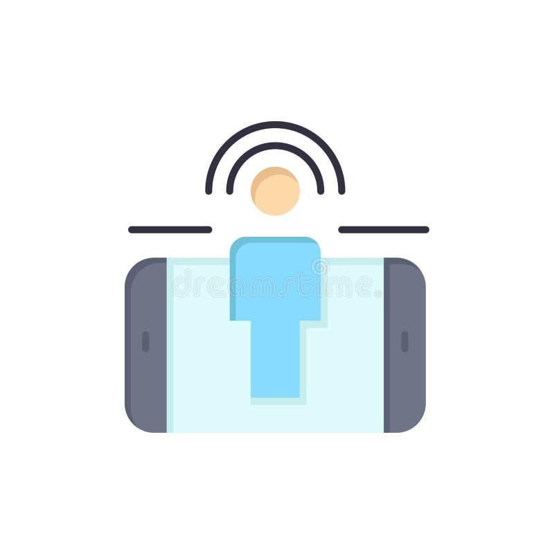 订婚,用户,用户订婚,销售的平的颜色象 传染媒介象横幅模板 库存例证