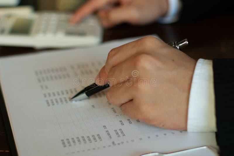 认为的企业教学 免版税库存图片