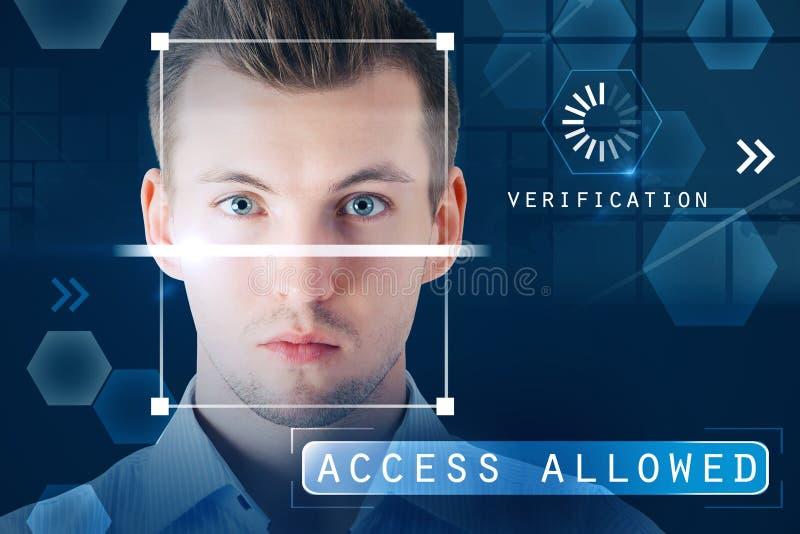 认证和通入允许的概念 免版税图库摄影
