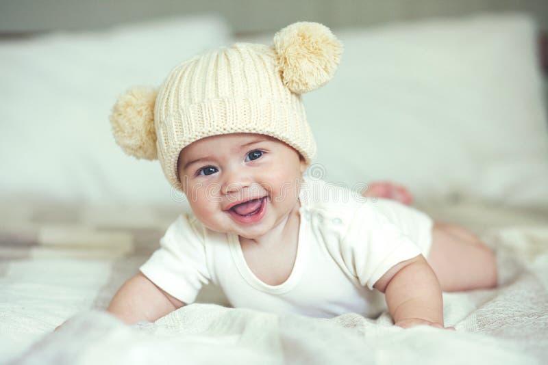 讨人喜欢的婴孩 免版税图库摄影