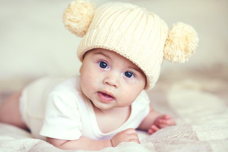 讨人喜欢的婴孩 图库摄影