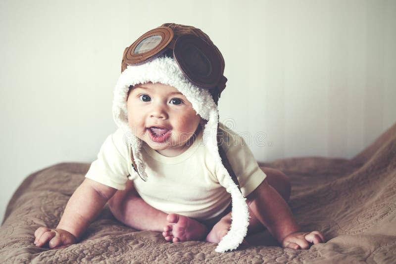 讨人喜欢的婴孩 免版税库存图片