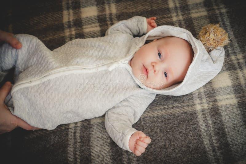 讨人喜欢的婴孩 免版税库存照片