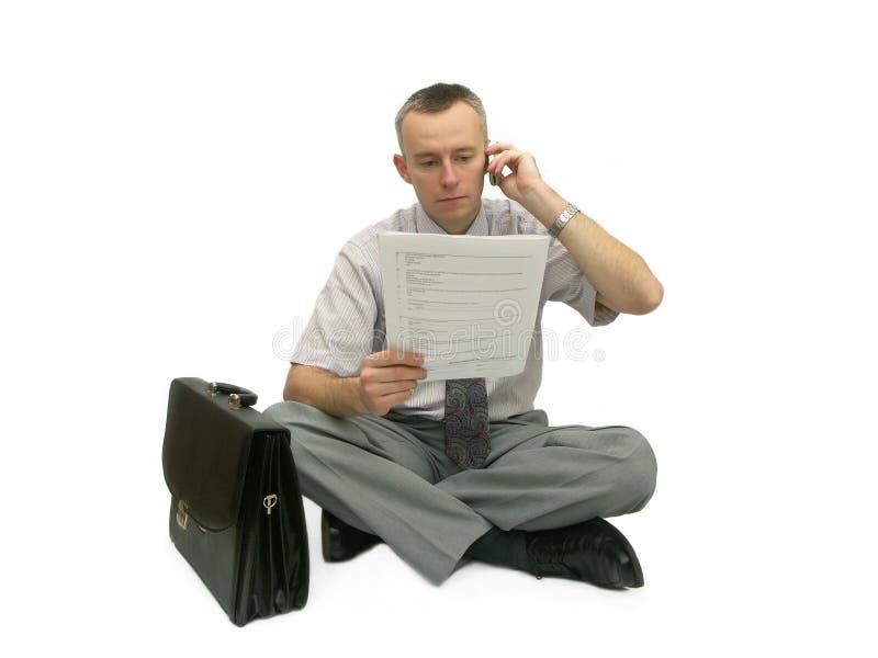 讨论项目 免版税库存照片