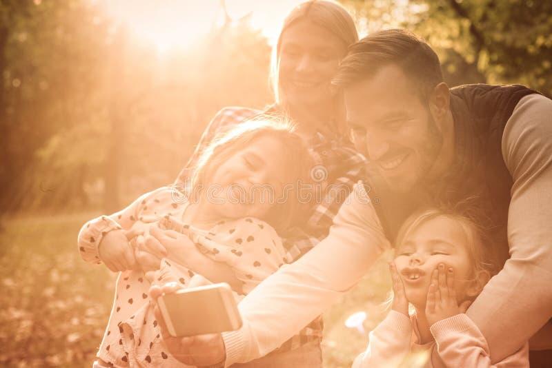 让` s做家庭一 免版税库存照片