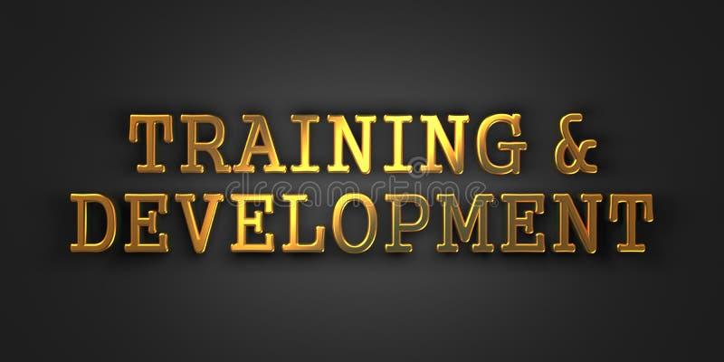 训练和发展。企业概念。 库存照片
