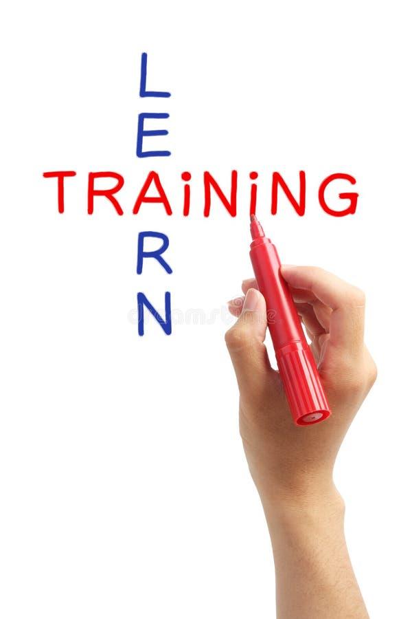 训练和学会 免版税库存照片