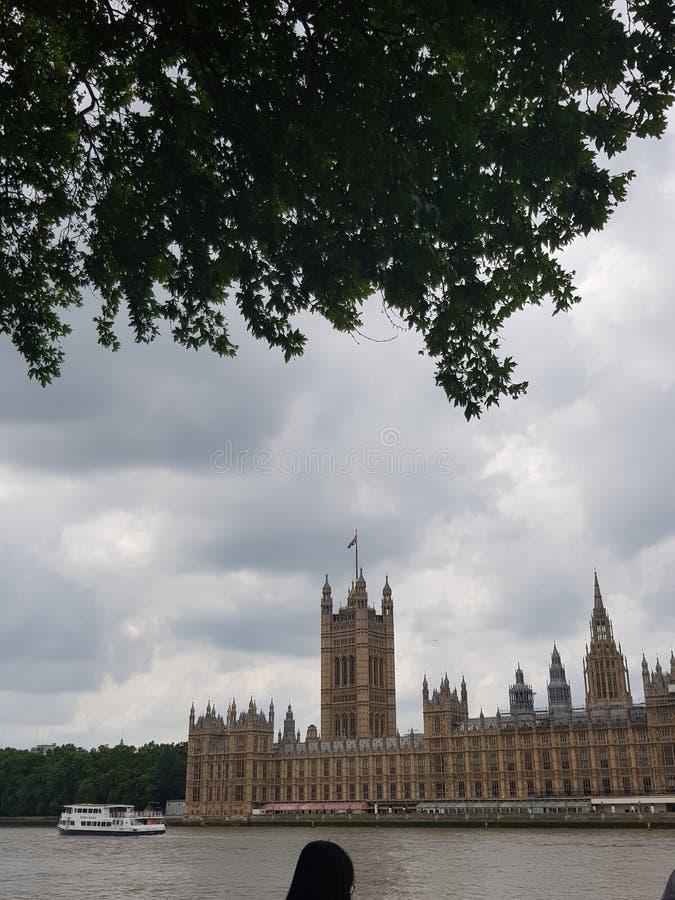 议会伦敦议院  免版税库存照片