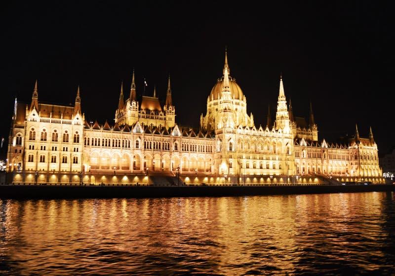 议会在布达佩斯 免版税库存照片