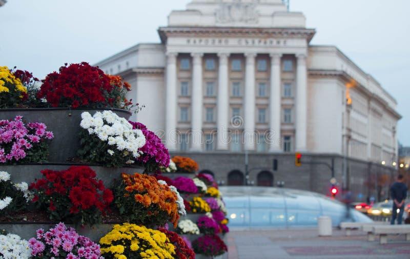 议会在索非亚,保加利亚 免版税库存照片