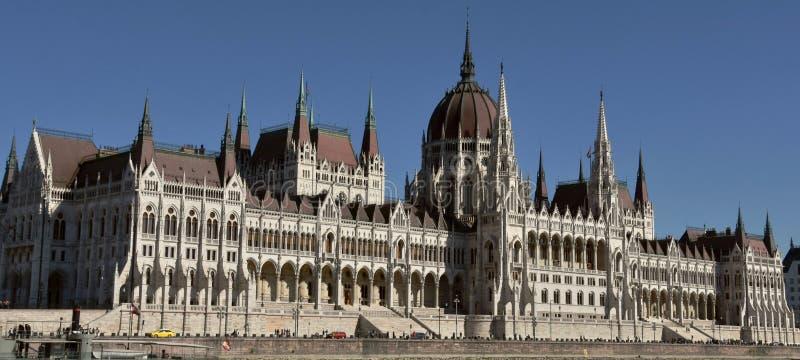 议会大厦在布达佩斯 免版税库存照片