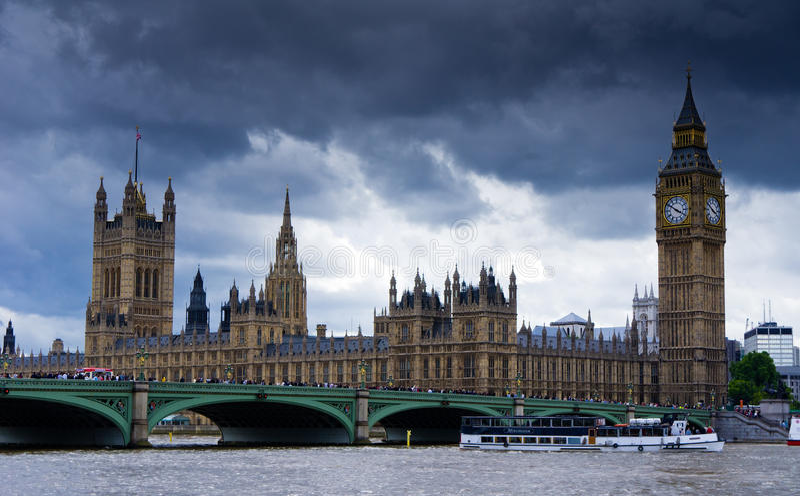 议会英国 免版税库存图片