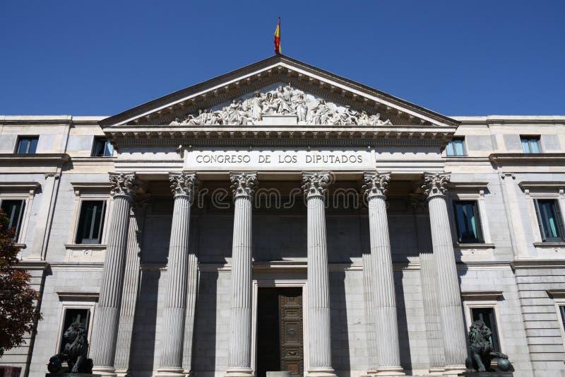 议会西班牙语 库存图片