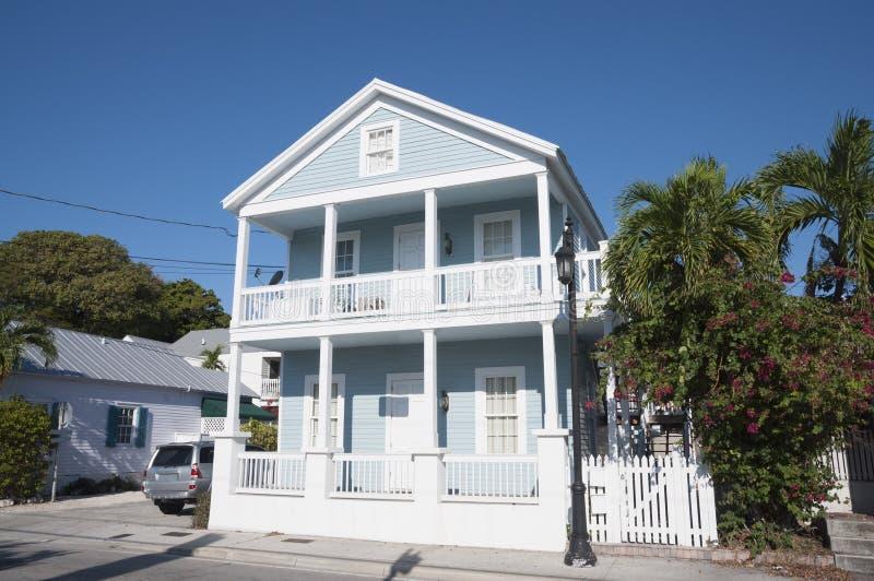 议院在基韦斯特岛,佛罗里达 免版税库存照片