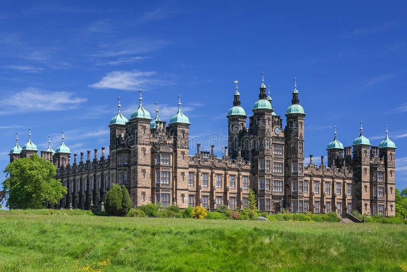 议院在爱丁堡 库存图片
