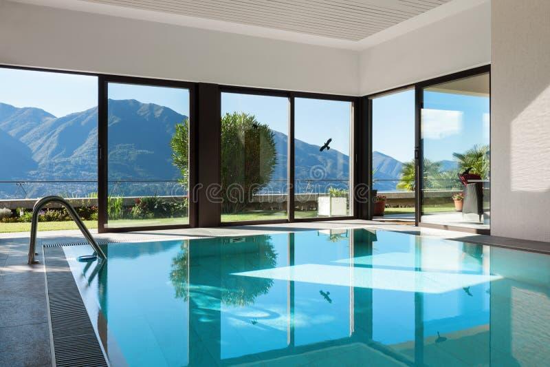 议院,室内游泳池 图库摄影