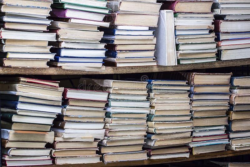 登记书架许多 免版税库存图片