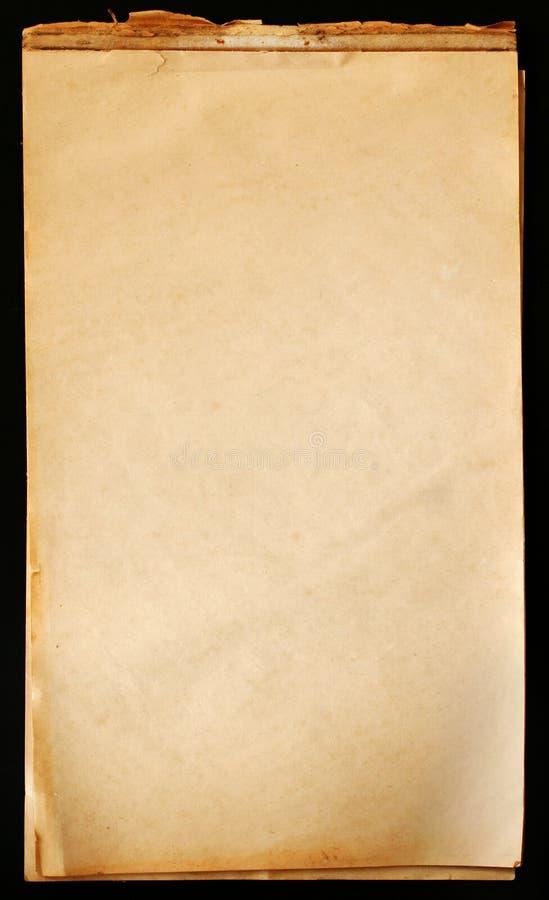 记事本纸葡萄酒 库存图片