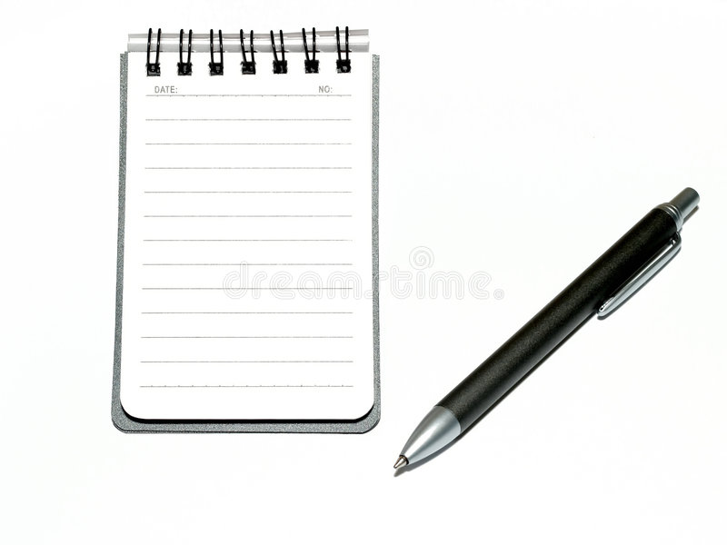记事本 免版税图库摄影