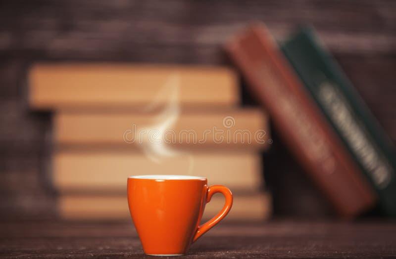 登记咖啡杯 图库摄影