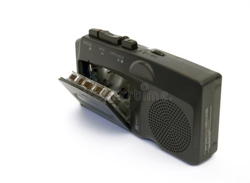 记录员磁带语音 免版税库存图片