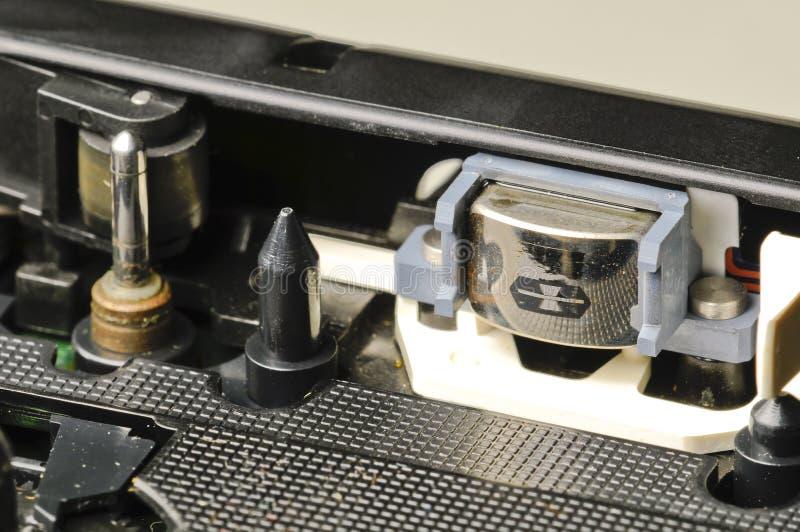 记录员磁带 库存图片